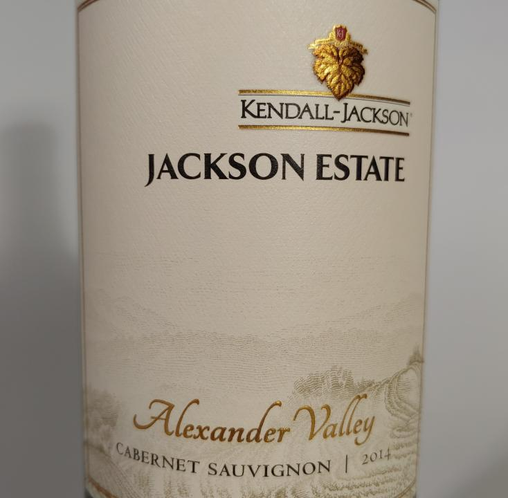 Kendall Jackson Estate Cabernet Alexander Valley