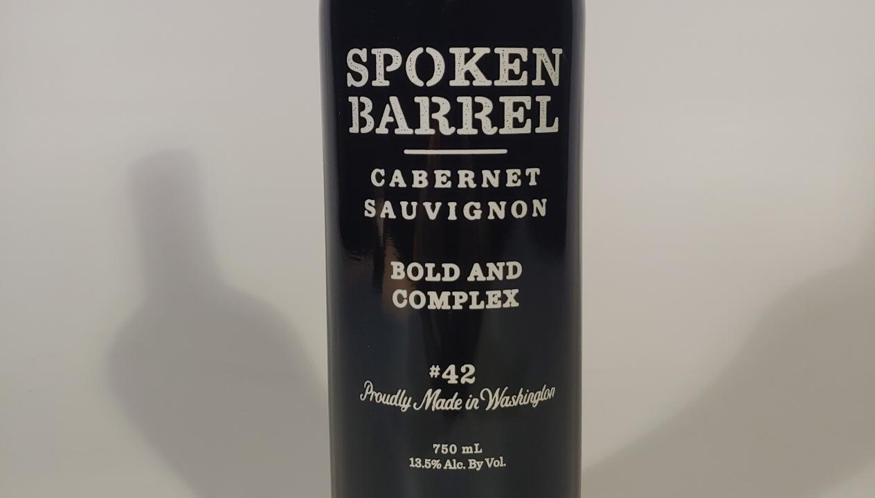 Spoken Barrel #42 Cabernet Sauvignon Columbia Valley