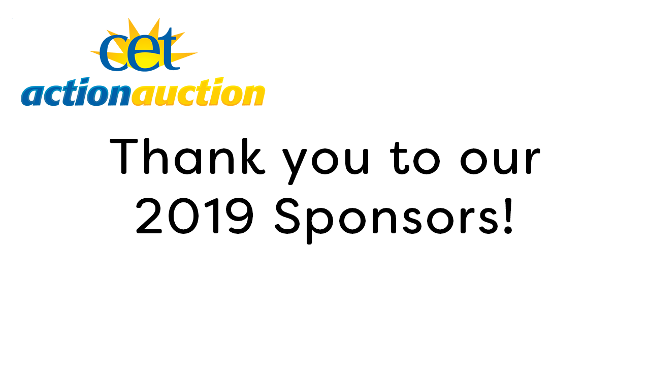 Thank you to our 2019 Sponsors